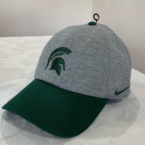 Nike Michigan State Spartans Baseball Cap Hat